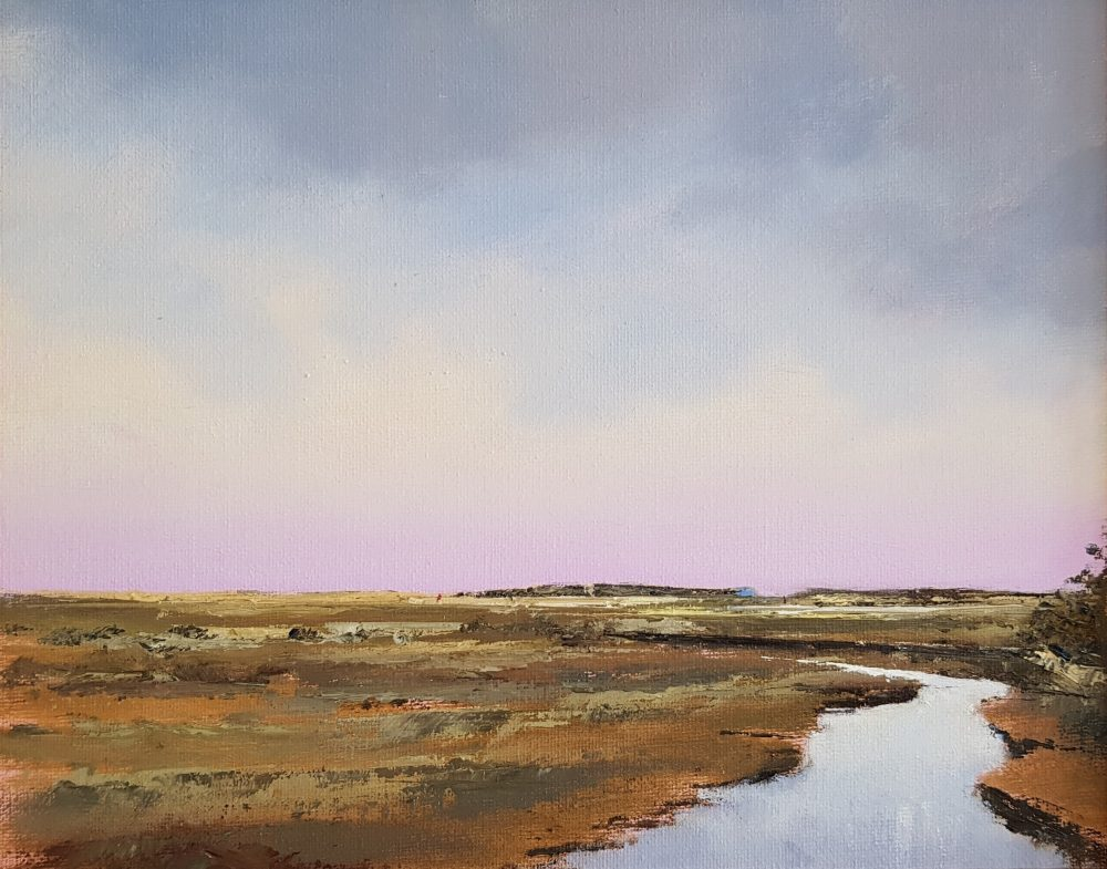 Stiffkey Marshes Late Afternoon Light
