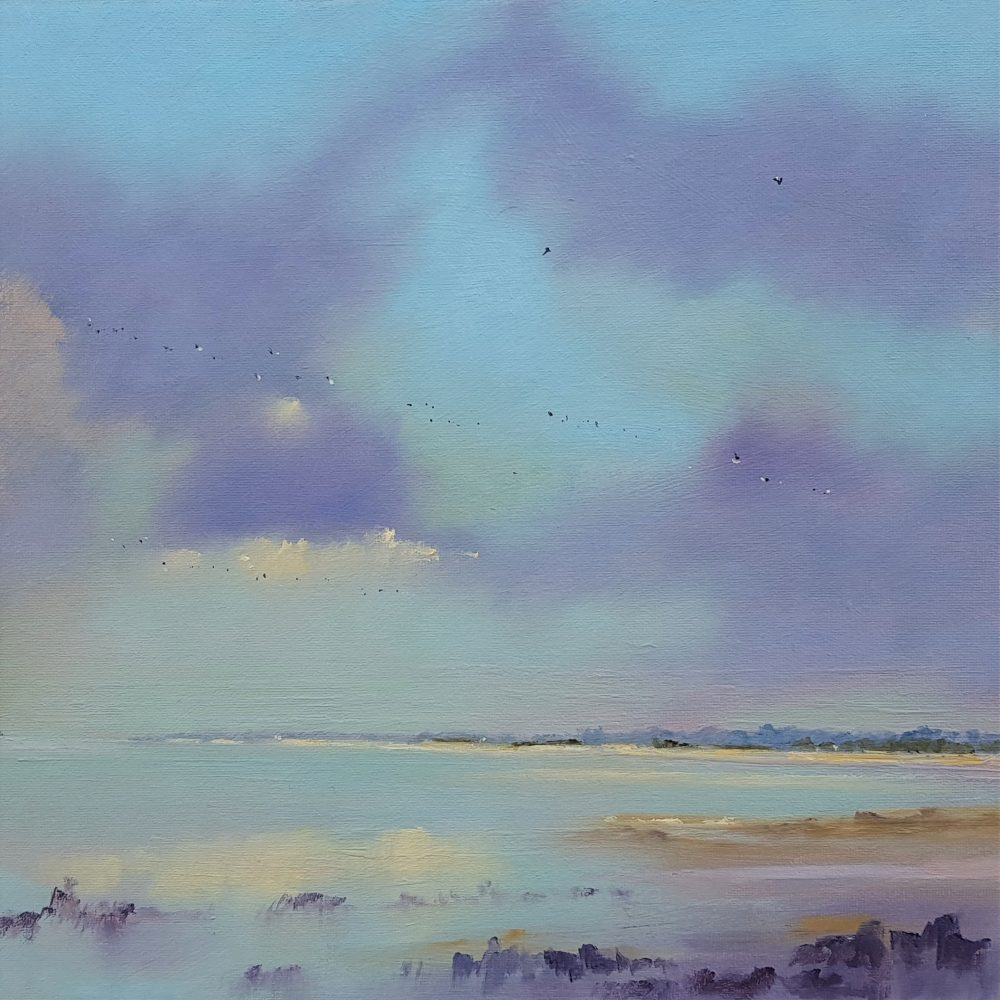 Winter Blue Skies Holkham